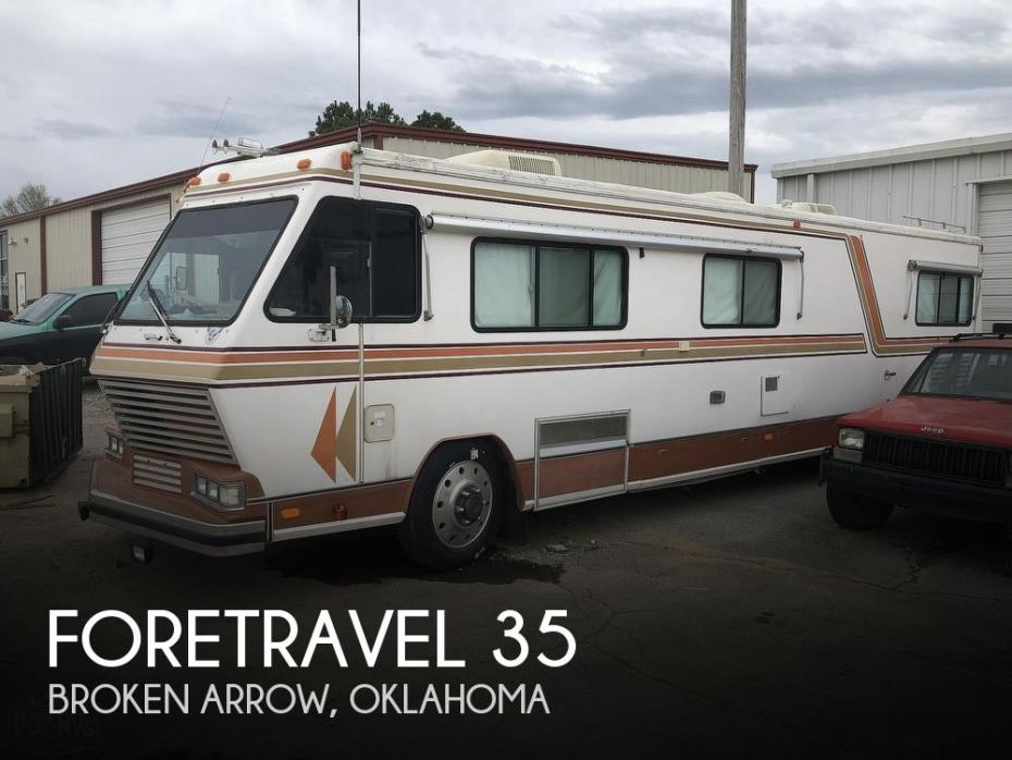 1984 Foretravel Motorcoach Foretravel 35