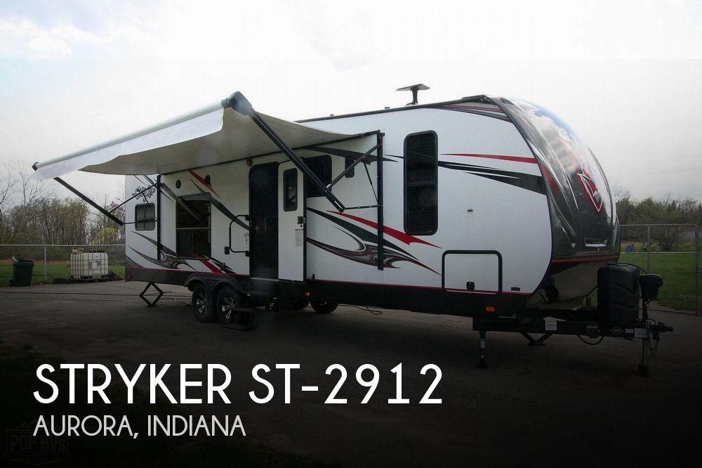 2018 Cruiser RV Stryker ST 2912
