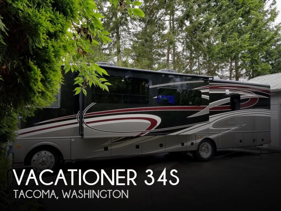 2018 Holiday Rambler Vacationer XE 34S