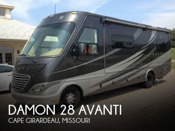 2012 Thor Motor Coach Damon 28 Avanti