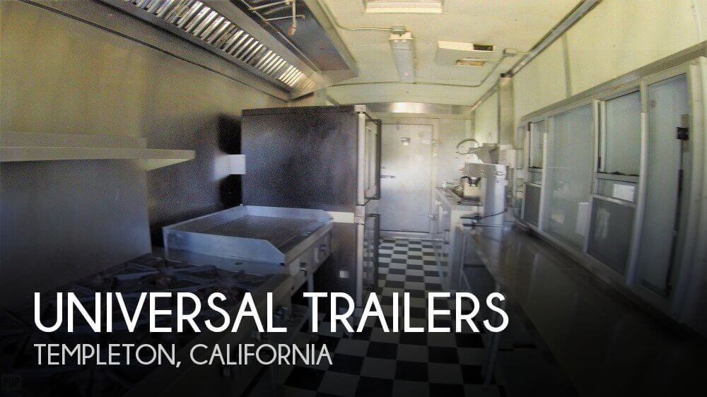 2007 Universal Trailers 42' Commercial Mobile Kitchen