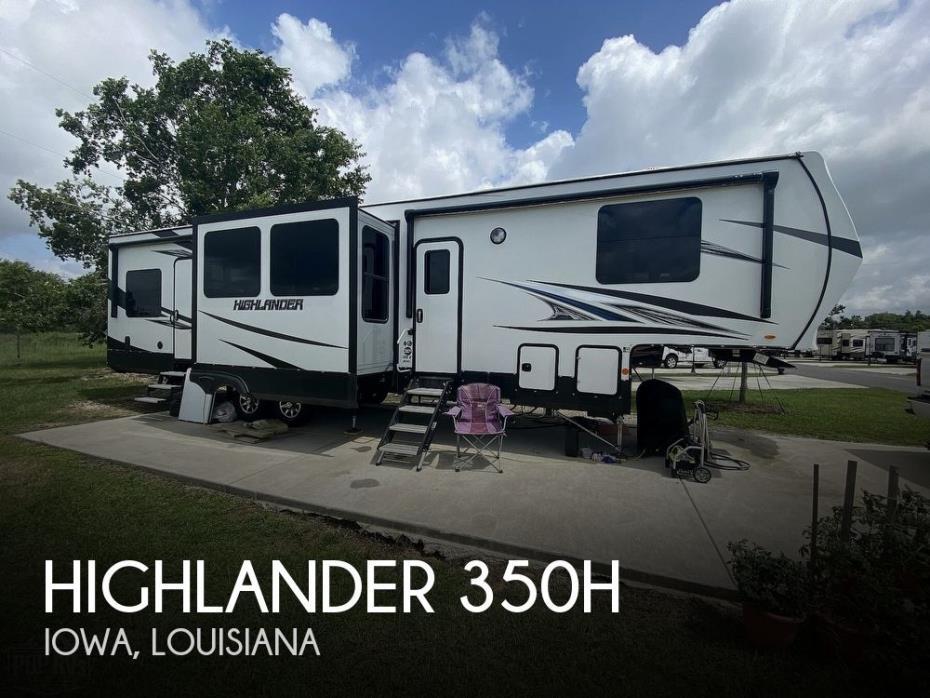 2020 Highland Ridge Highlander 350H