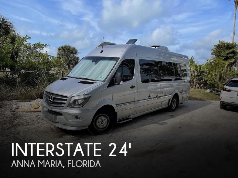 2018 Airstream Interstate Lounge EXT Tommy Bahama