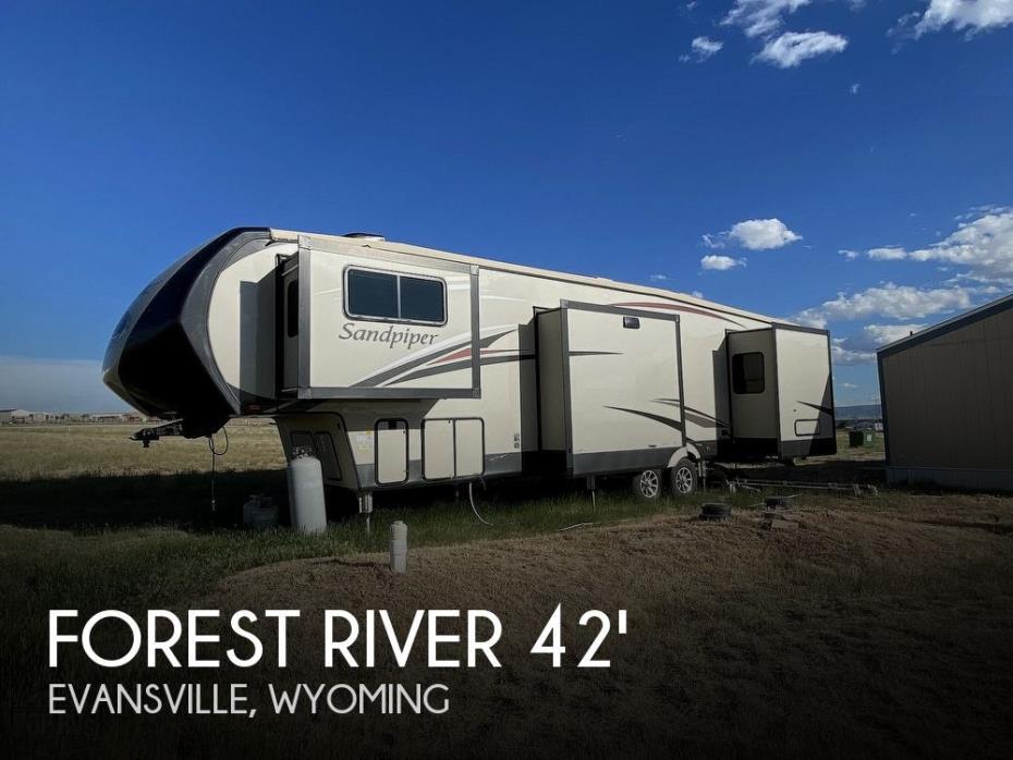2017 Forest River Sandpiper 379FLOK