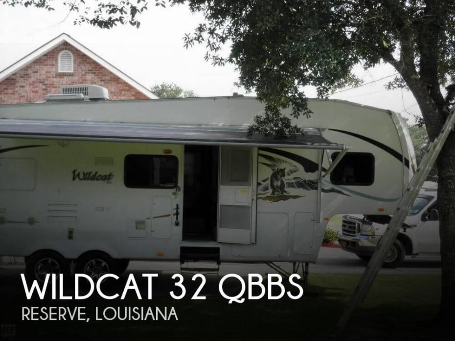 2009 Forest River Wildcat 32 QBBS