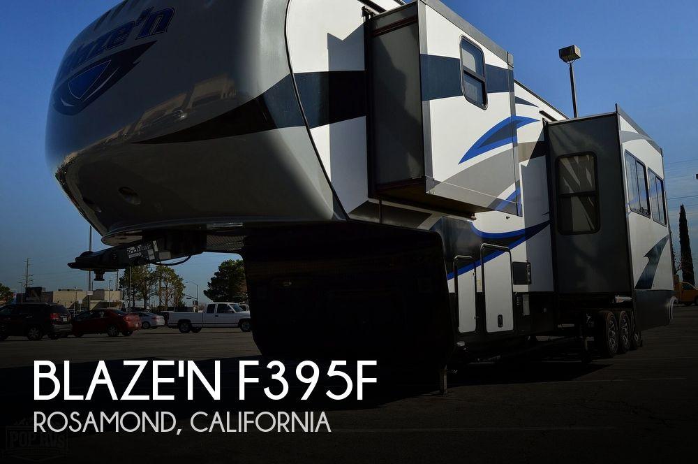 2016 Pacific Coachworks Blaze'N F395F