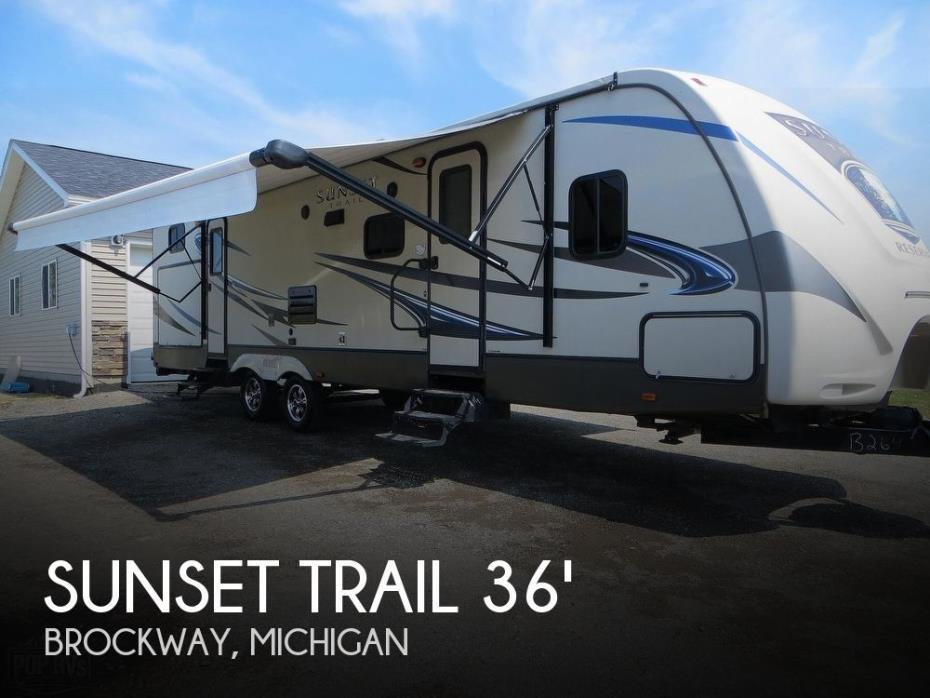 2015 CrossRoads Sunset Trail 32BH
