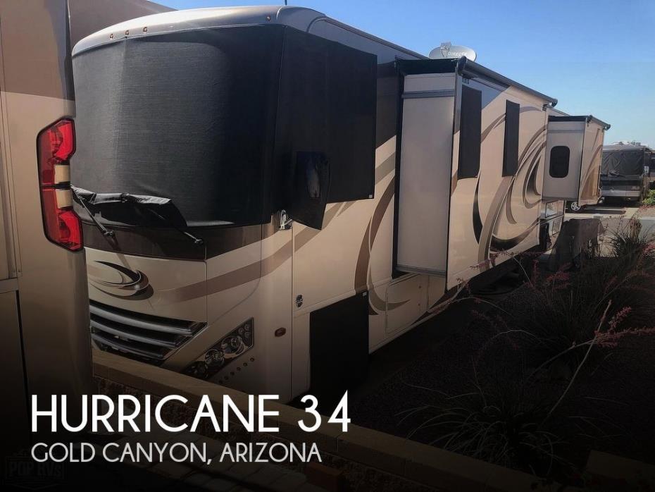 2017 Thor Motor Coach Hurricane 34