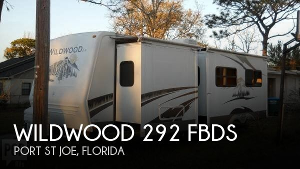 2008 Forest River Wildwood 292 FBDS