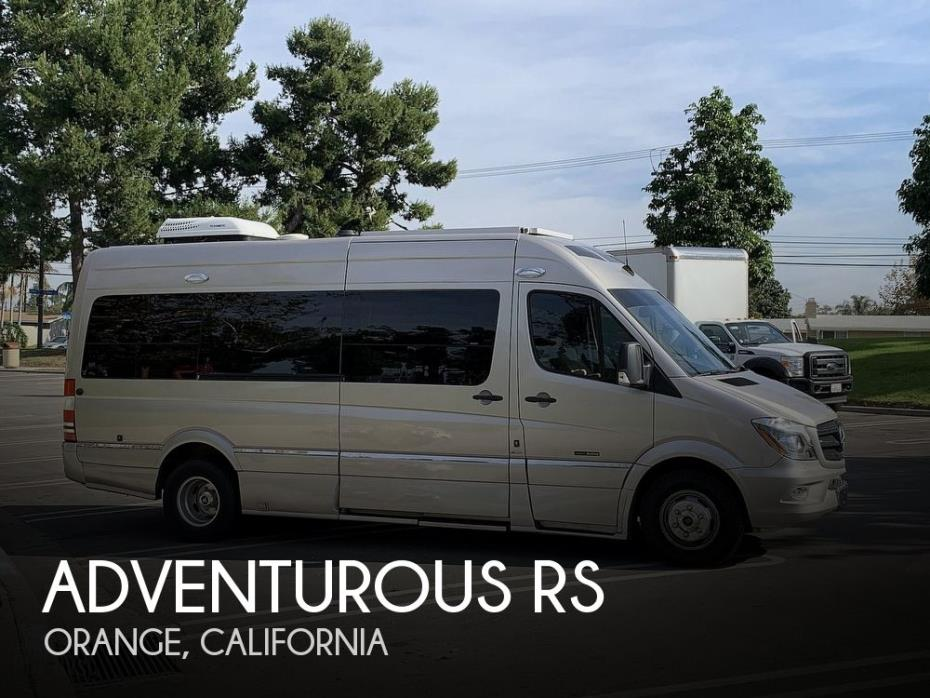 2014 Roadtrek Adventurous RS