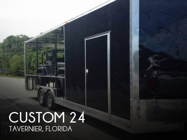 2017 Rexhall Custom 24' Toy Hauler Enclosed Utility Trailer