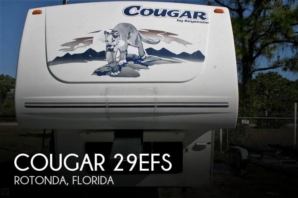 2005 Keystone Cougar 29EFS