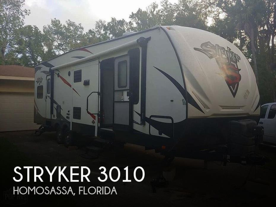 2016 Cruiser RV Stryker 3010