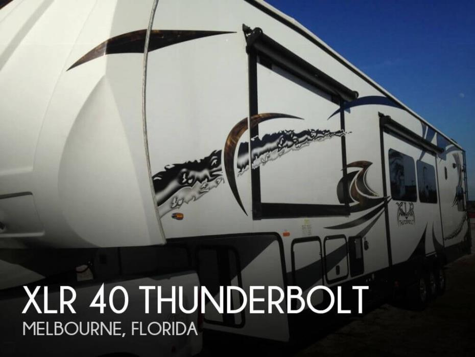 2014 Forest River XLR 40 Thunderbolt