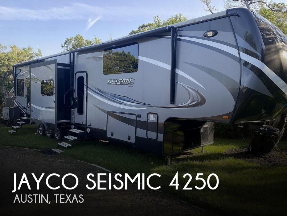 2016 Jayco Seismic 4250