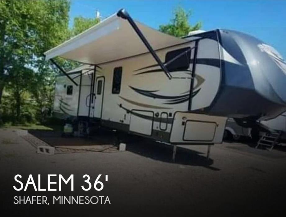 2018 Forest River Salem Hemisphere Lite 368RLBHK