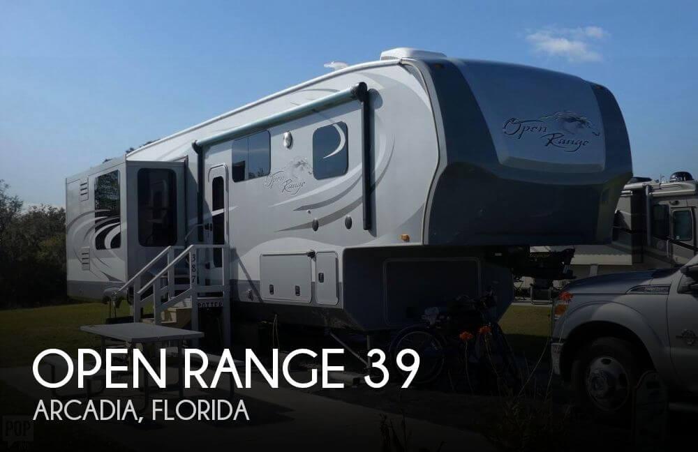 2014 Highland Ridge Open Range 388RKS
