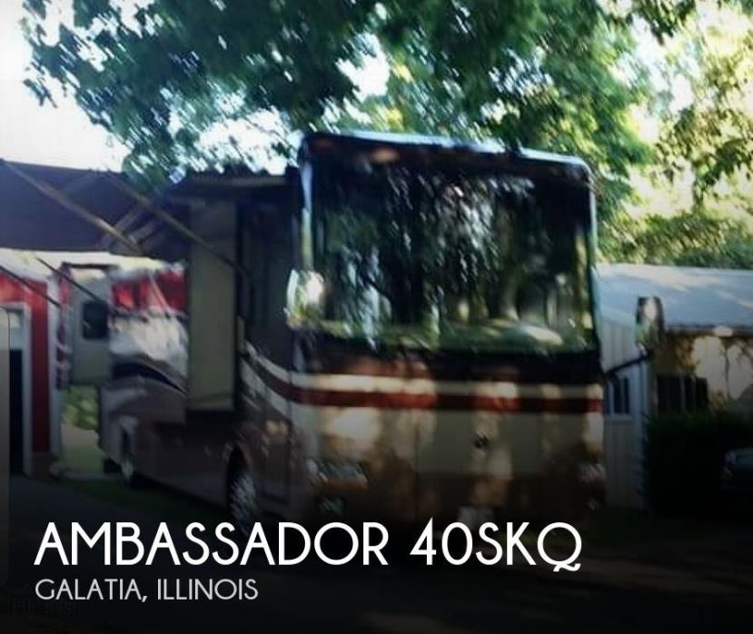 2008 Holiday Rambler Ambassador 40SKQ