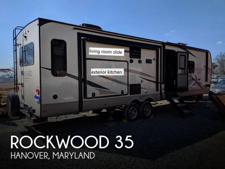 2019 Forest River Rockwood 35
