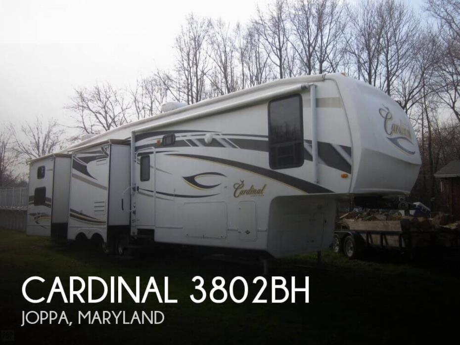 2009 Forest River Cardinal 3802BH