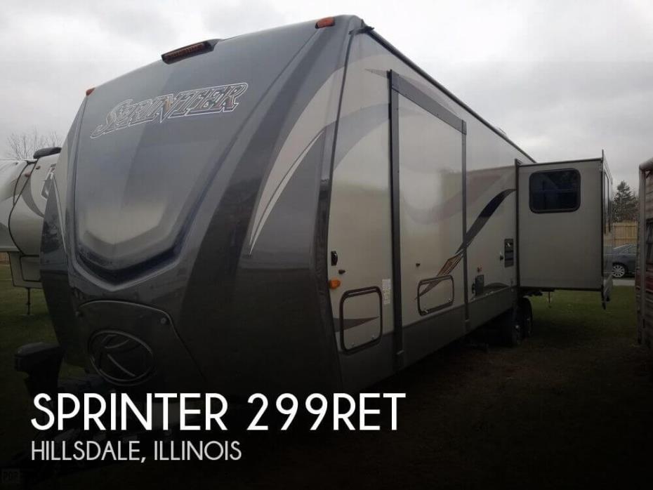 2016 Keystone Sprinter 299RET