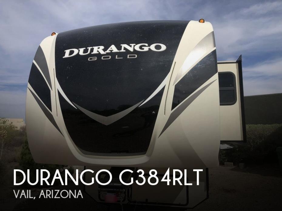 2018 KZ Durango G384RLT