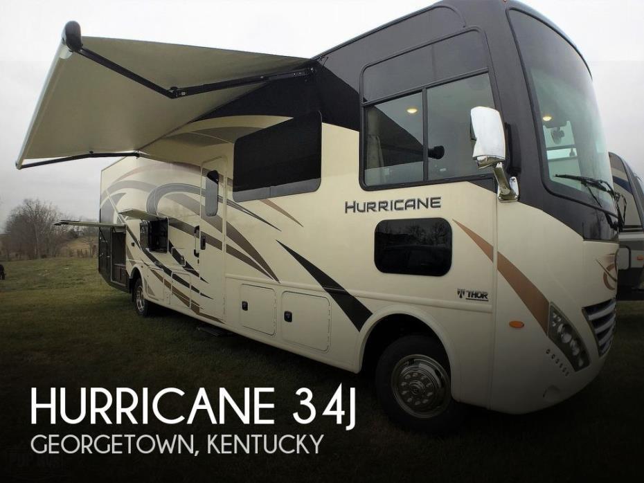 2020 Thor Motor Coach Hurricane 34J