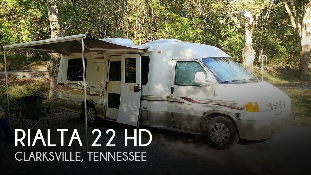 2001 Winnebago Rialta 22HD