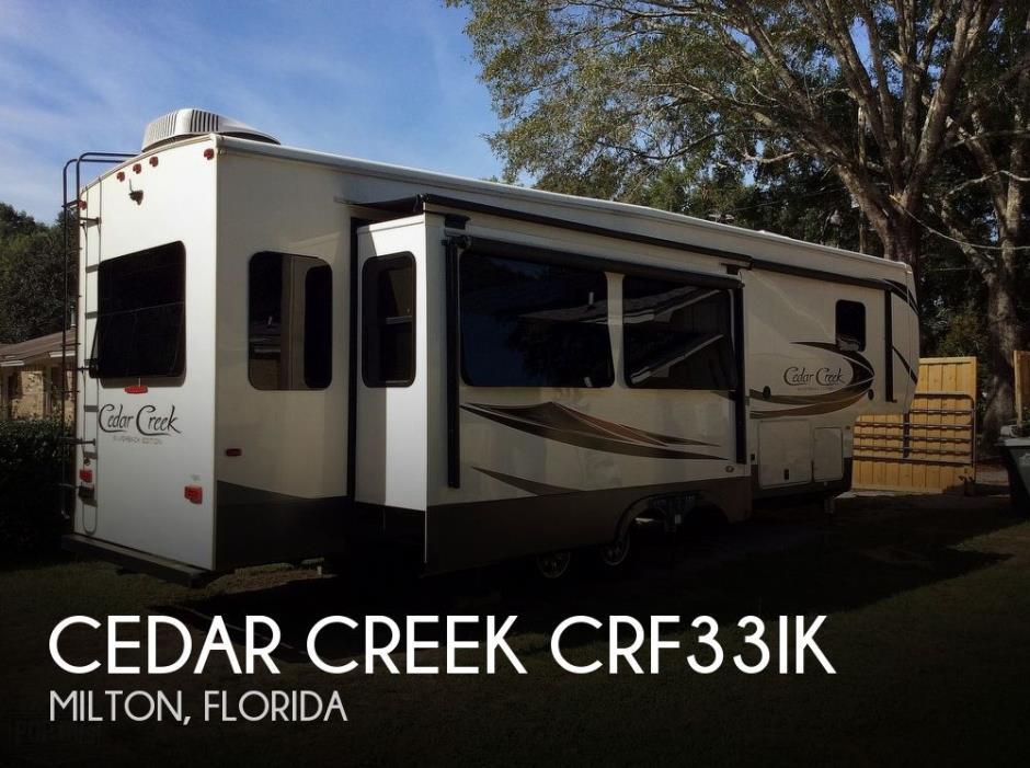 2019 Forest River Cedar Creek 33IK