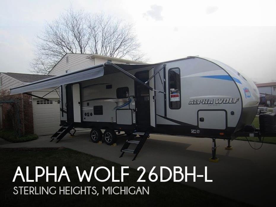 2020 Cherokee Alpha Wolf 26DBH-L