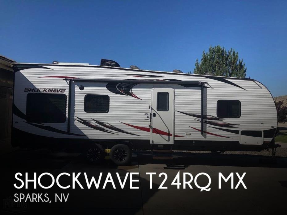 2017 Forest River Shockwave T24RQ MX