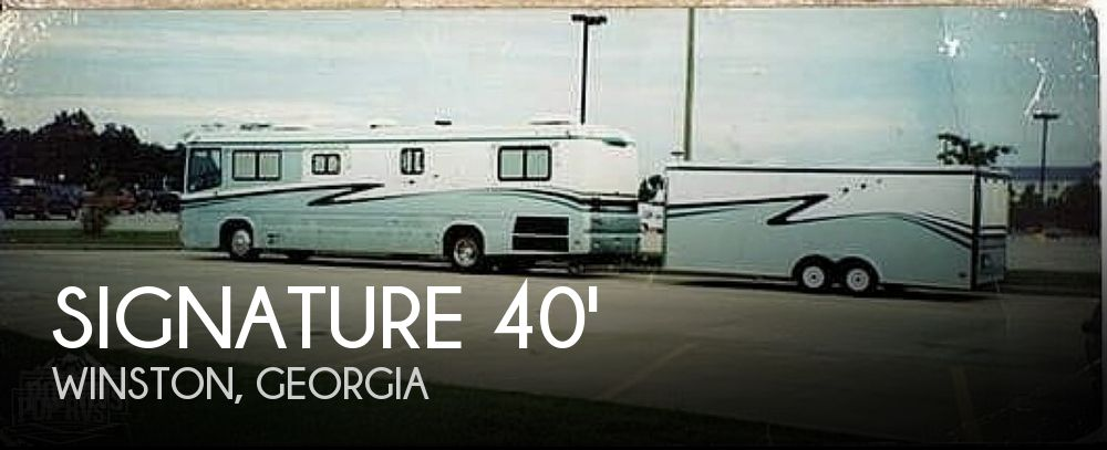 1995 Monaco Signature Series Crown Royale 40