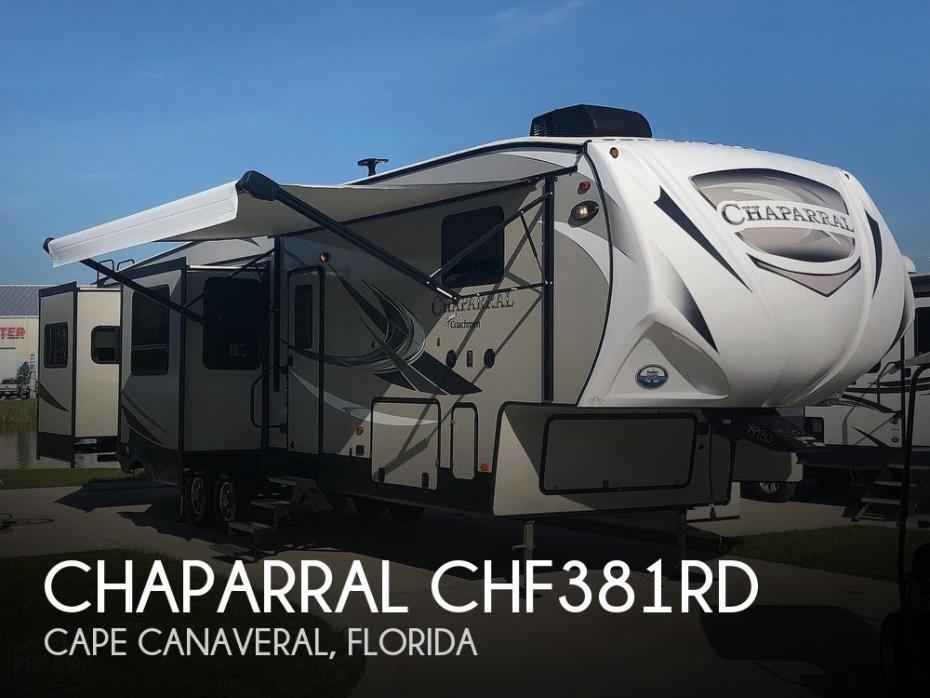 2018 Coachmen Chaparral CHF381RD