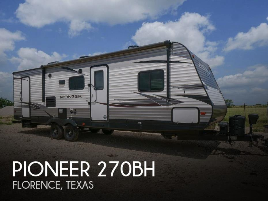 2020 Pioneer (by Heartland) 270BH