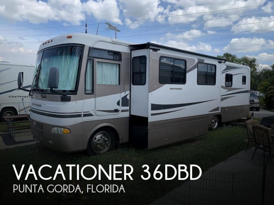 2003 Holiday Rambler Vacationer 36DBD
