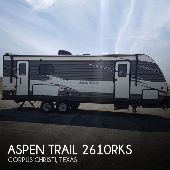 2019 Dutchmen Aspen Trail 2610RKS