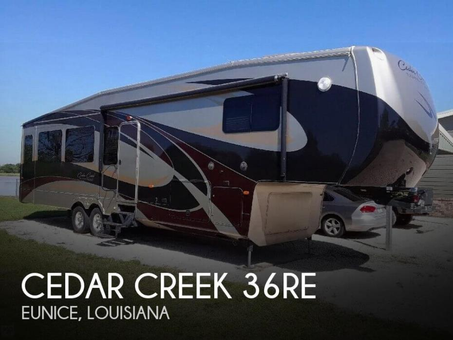 2013 Forest River Cedar Creek 36RE