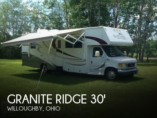 2005 Jayco Granite Ridge 2900 GS