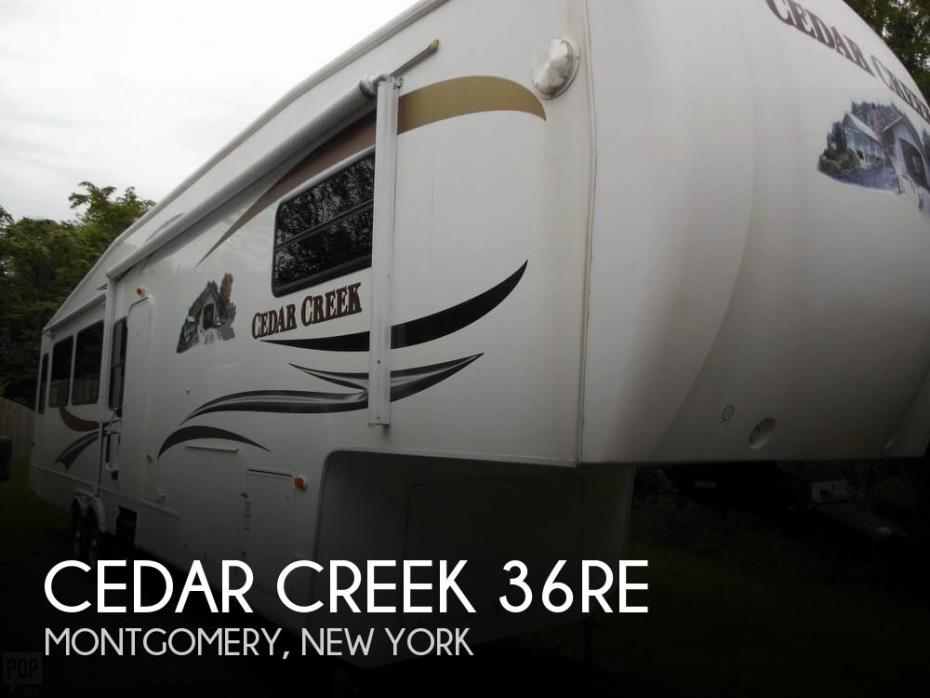 2010 Forest River Cedar Creek 36RE