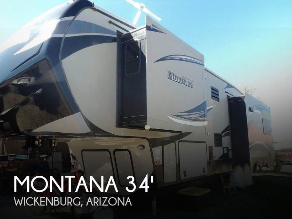 2014 Keystone Montana 318RE