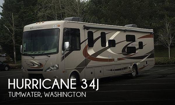 2016 Thor Motor Coach Hurricane 34J