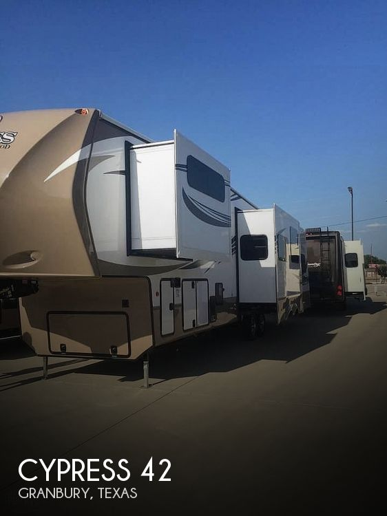 2016 Redwood RV Cypress 38BHR