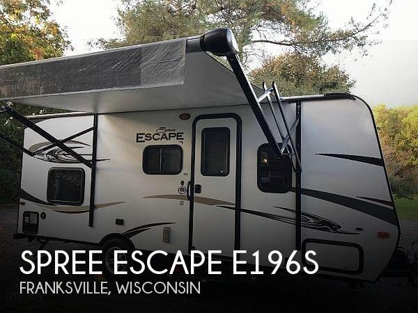 2016 KZ Spree Escape E196S