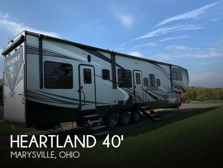 2020 Heartland Heartland Cyclone 4007