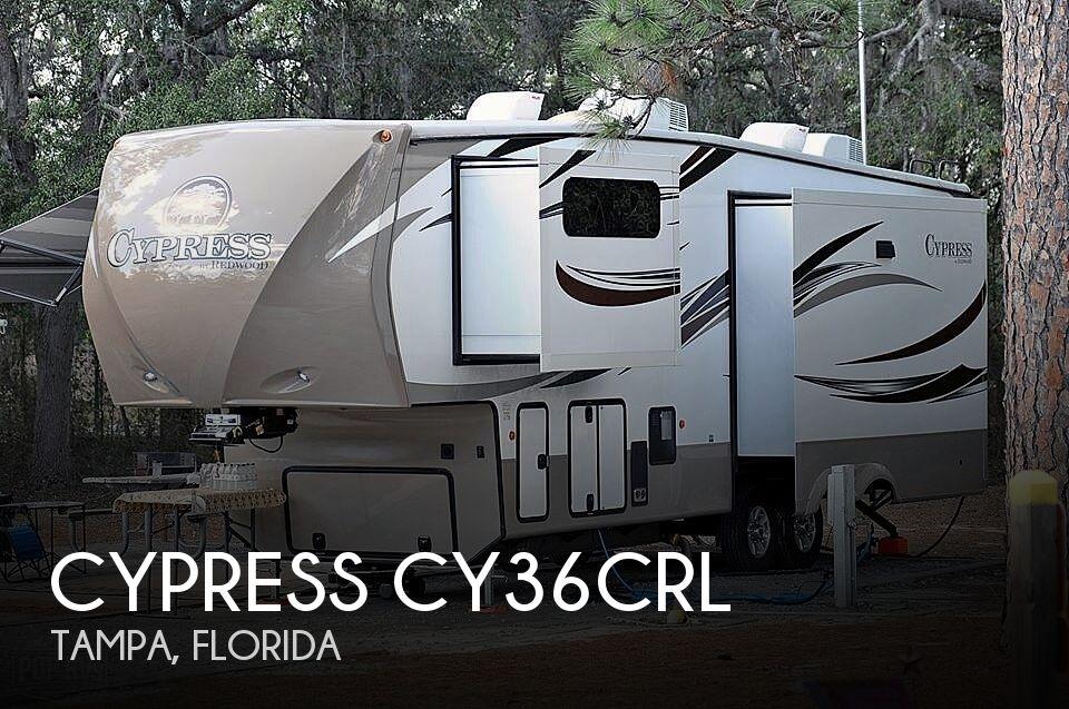 2015 Redwood RV Cypress CY36CRL