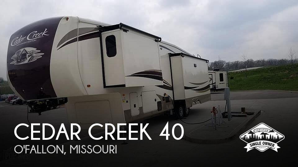 2019 Forest River Cedar Creek 36CK2