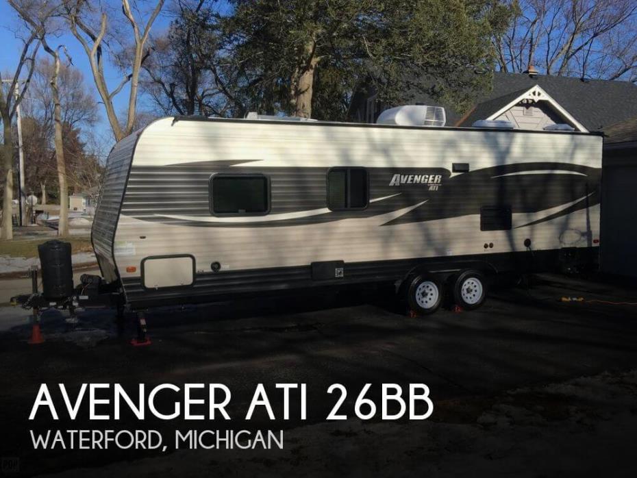 2017 Forest River Avenger ATI 26BB