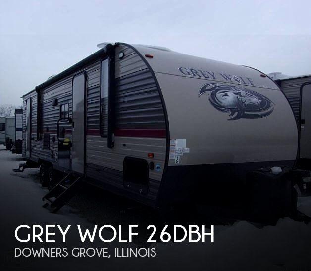 2019 Forest River Grey Wolf 26DBH