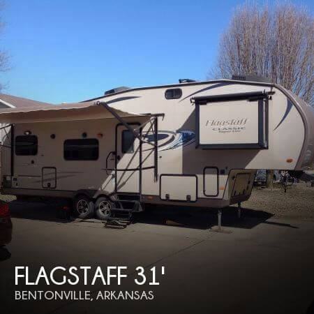 2015 Forest River Flagstaff Classic Super Lite 8528IKWS