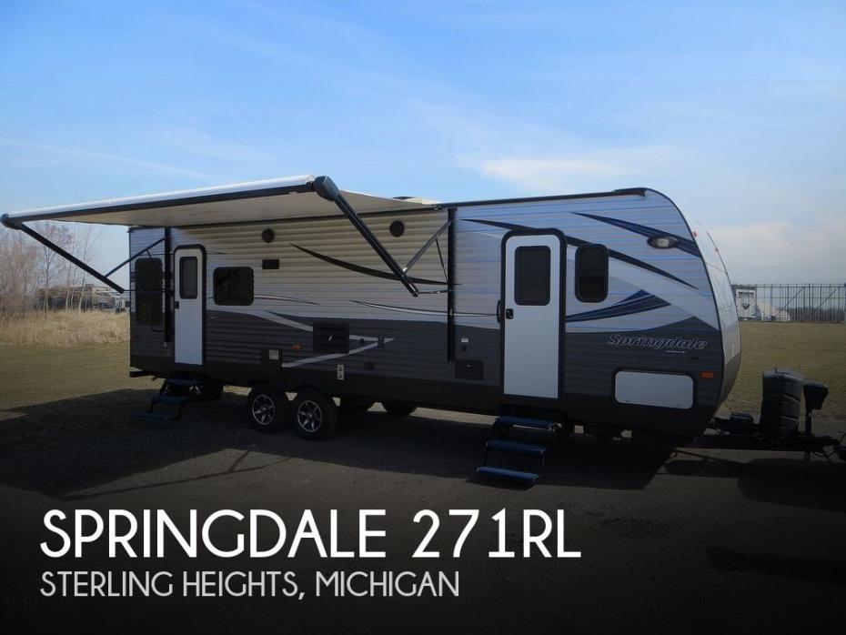 2018 Keystone Springdale 271RL